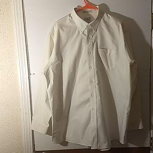LL Bean Button Down Shirt SZ 17.5